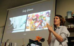 Student to mentor: former visual major Rebecca Mock visits her alma mater