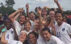 Girls soccer team wins county championship