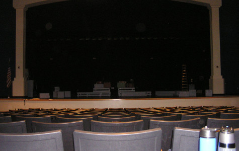Mainstage Theater under renovation; to cause problems