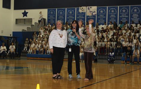 School says goodbye to three retiring staff members