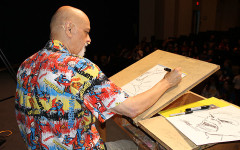 Arts Avengers Day presents welcomes cartoonist George Perez, dancer Carol Flynn