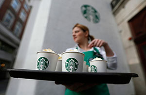 Starbucks delivery service, convenience for customers