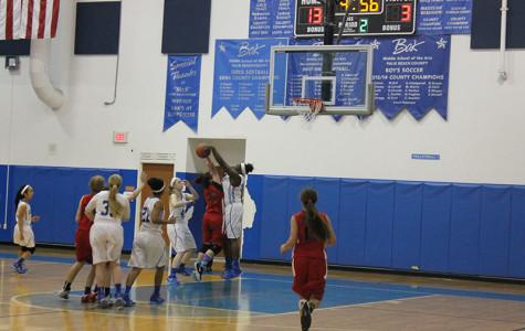 Girls' basketball team works hard, plays harder