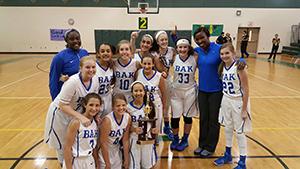 Girls basketball team makes bak history, wins county championship