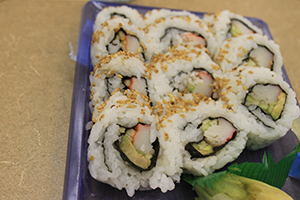 Sushi- the best throughout Palm Beach County
