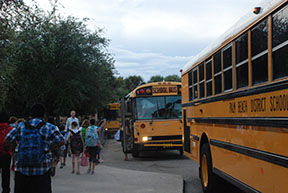 School district officials address first week of school transportation issues