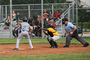 Boys' baseball wins first game of season