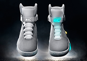 Nike proves self-lacing sneakers possible with Nike Mags