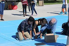 Visual arts Artsgiving showcase reveals talent in interactive activities