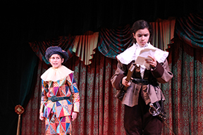 The Servant of Two masters brings entertainment to students, experience for cast
