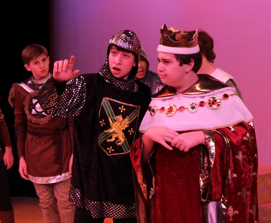 Musical theater students perform Bak on Broadway