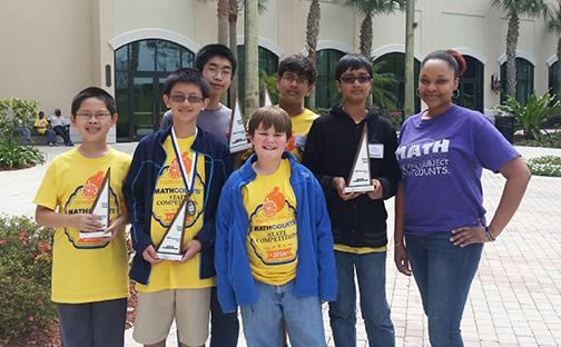 Math Counts Team places 10th in state competition