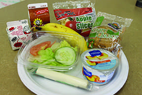 Cafeteria offers healthy choices for students
