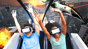 New virtual reality rollercoasters bring enjoyment to thrill-seekers