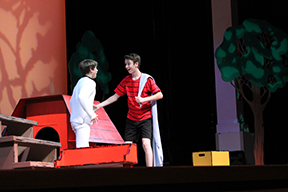 Charles Schulz lives on in the musical 'You're a Good Man, Charlie Brown'