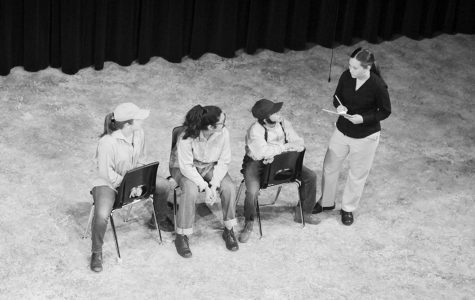Student-directed  one act plays wow audience