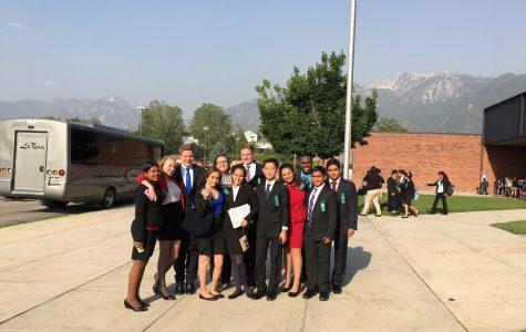 Students get speaking experience in Utah