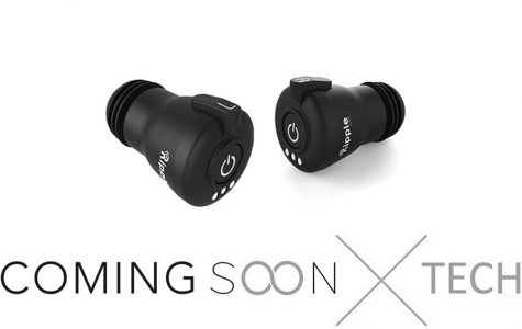 New RippleBuds will be the first ear buds to contain built in microphone