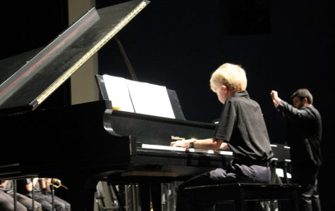 Students improve musical skills in band and jazz band