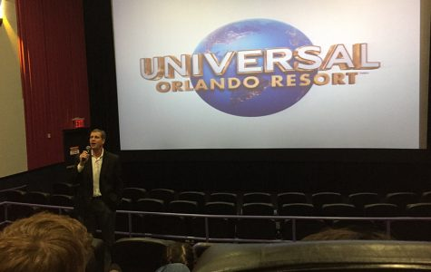 Students learn from marketing venture to Universal