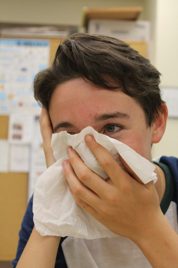 The flu can have nasal symptoms like runny nose, congestion, and sneezing. The annual recurrence of it is caused by the Influenza A or B virus, and is extremely contagious.
