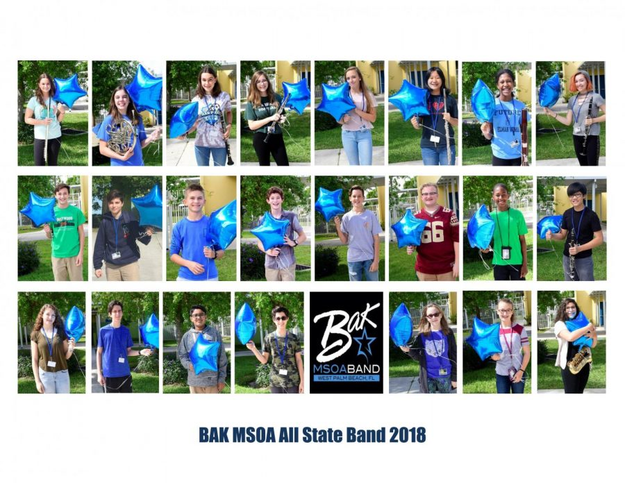 23 band students earn spot in 2018 All State Band