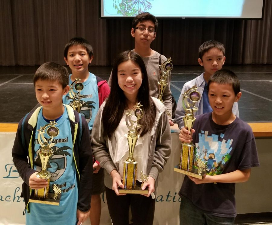 Bak students take home half of math competition awards at county level