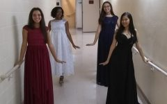 Eighth grade quartet, piano majors performs at Kravis Center