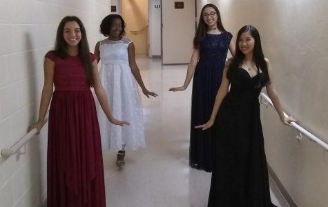 Eighth grade quartet, piano majors performs at Kravis Center