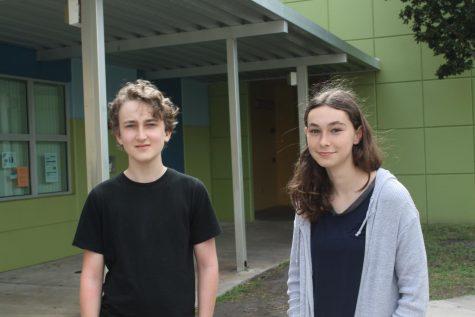 Two Bak eighth graders go to regional spelling bee
