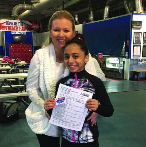 Figure skater glides through her passion and struggles